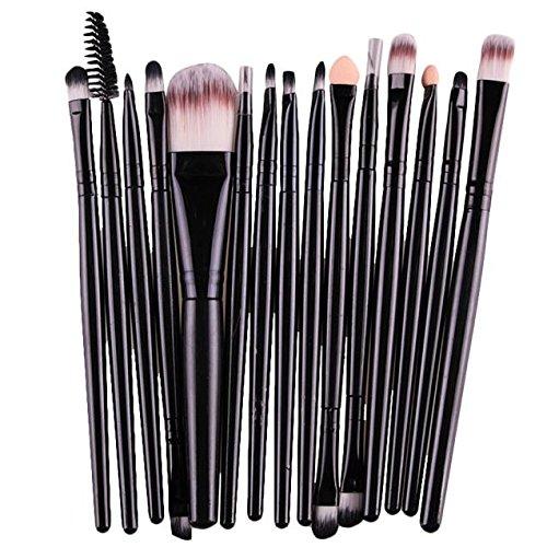 Makeup Brush Set,Clearance! 15 pcs/Sets Eye Shadow Foundatio