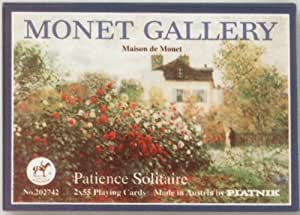 Piatnik Patience Solitaire Monet Gallery