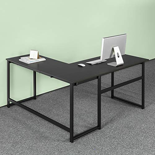 Zinus Luke L-Shaped Corner Computer Desk / Workstation / Home Office / Large