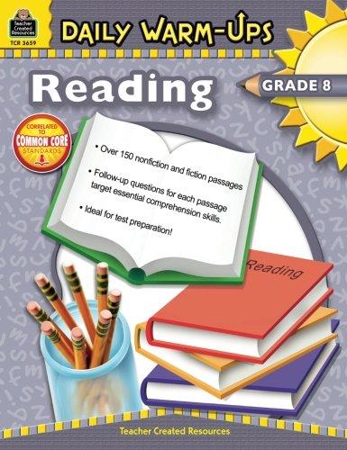 Daily Warm-Ups: Reading Grade 8 ()