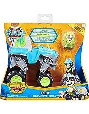 Paw Patrol & Friends 6059329 Dino HQ Rex Feat Vehicle Toy,Multi