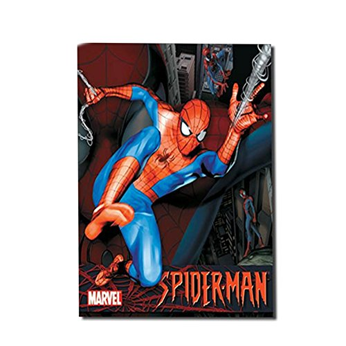Marvel Spider-man Nostalgic Retro Funny Vintage Tin Sign Metal Wall Décor Hanging Frame