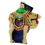 Old World Christmas Magi's Camel Glass Blown Ornament