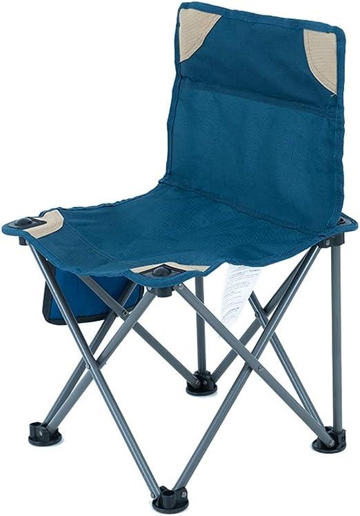 Sillas Camping, Silla Plegable al Aire Libre - Silla de Camping de ...