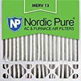 Nordic Pure 20x20x5HM13-1 20x20x5, MERV 13, Honeywell Replacement Air Filter, Box of 1, 5-Inch