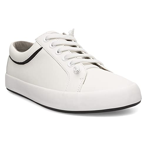 lowest price 42151 954a8 Zapatos 001 Para Hombre Camper K100030 Blanco De Cordones Piel FAnqxEwpvB