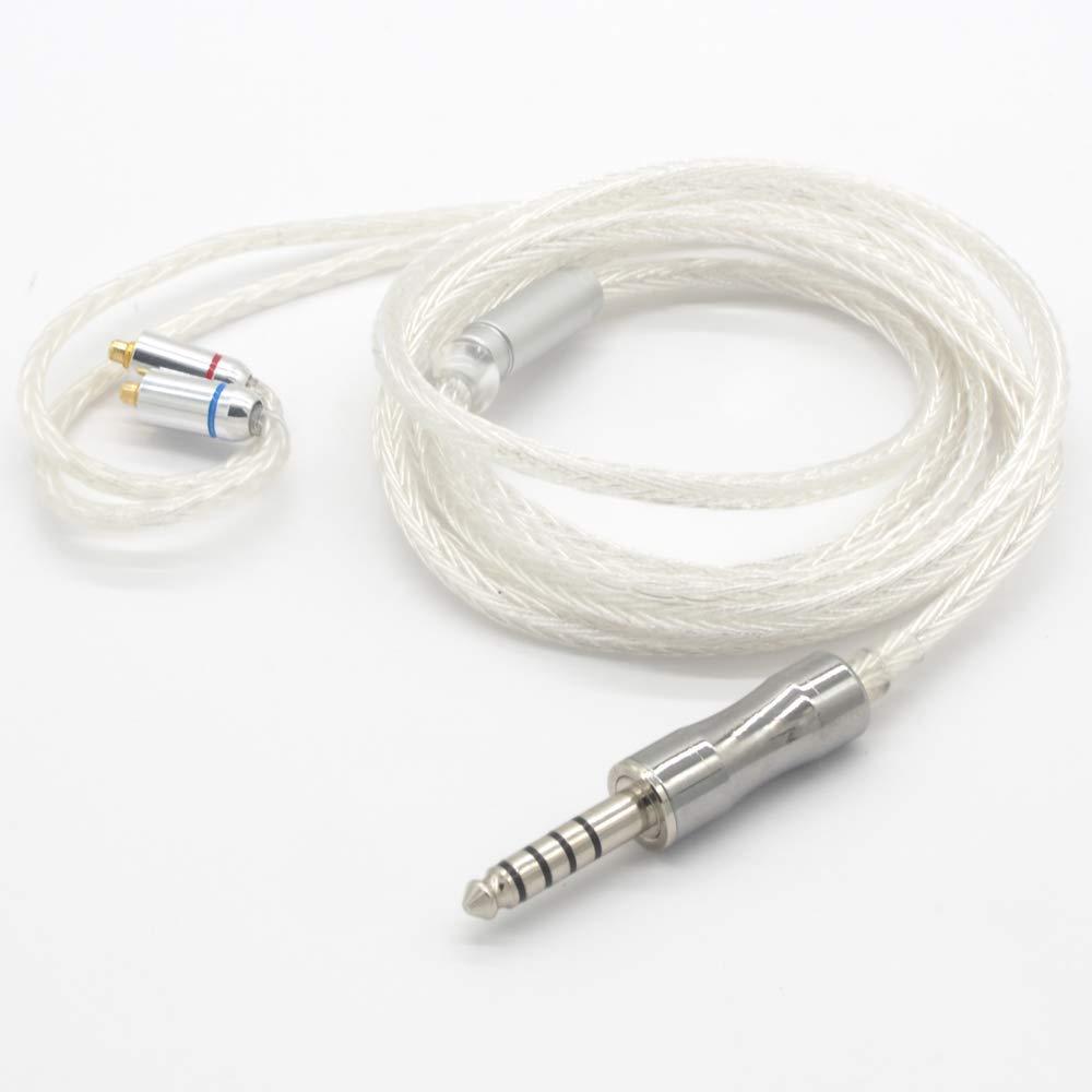 【国内正規品】Sounds Good 16芯ハンドメイドリケーブル WhiteSnake WS-M4B [MMCX-4.4mm]   B07SLJL9MZ
