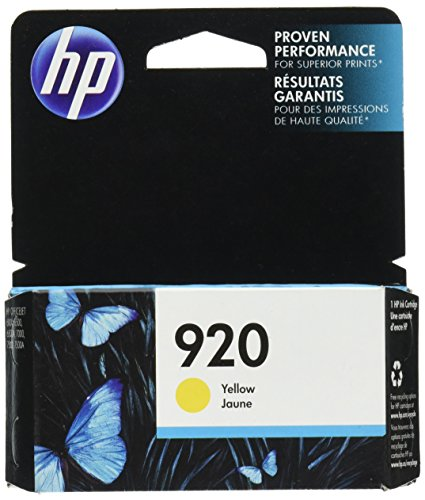 HP 920 Yellow Original Ink Cartridge For HP Officejet 6000, 6500,7000, 7500