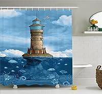 Madame Butterfly Bathroom Shower Curtain