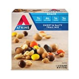 Atkins Snack, Sweet & Salty Trail Mix, 5 Count