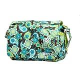 Ju Ju Be Be All Diaper Bag, Green/Print