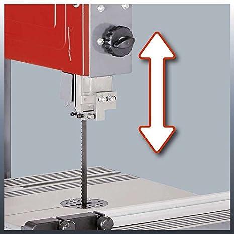 Einhell 4308055 Sierra de cinta 750 W, 240 V, rojo 1145 x 530 x 445 mm: Amazon.es: Bricolaje y herramientas