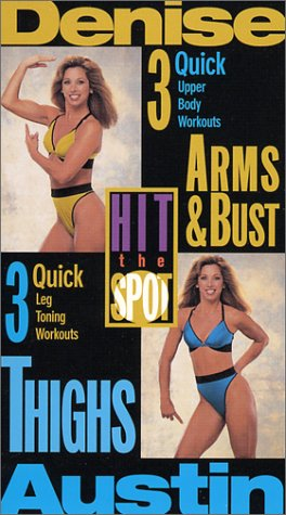 Denise Austin - Hit the Spot:Arms & Bust/Thighs 2pack [VHS]