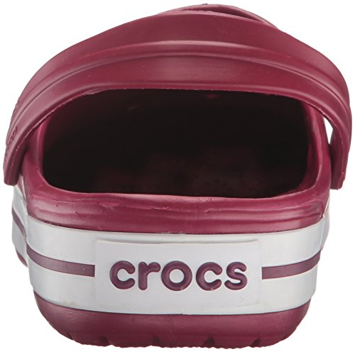 Sabots Crocband white pomegranate Rose Adulte Crocs Mixte 4zRWxa5TRq
