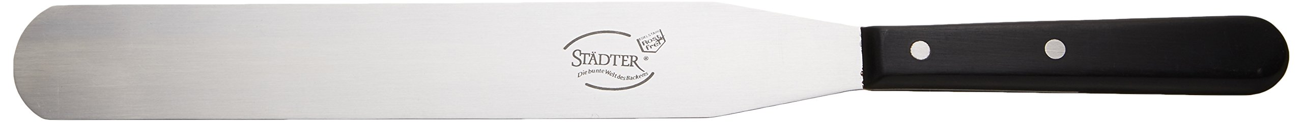 Staedter Icing Spatula, Silver, 25 Cm Length X 3.5 Cm Width