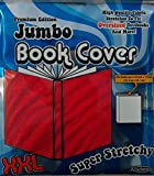 It's Academic Premium Edition Super Stretch Book Cover: Red - Fits 10