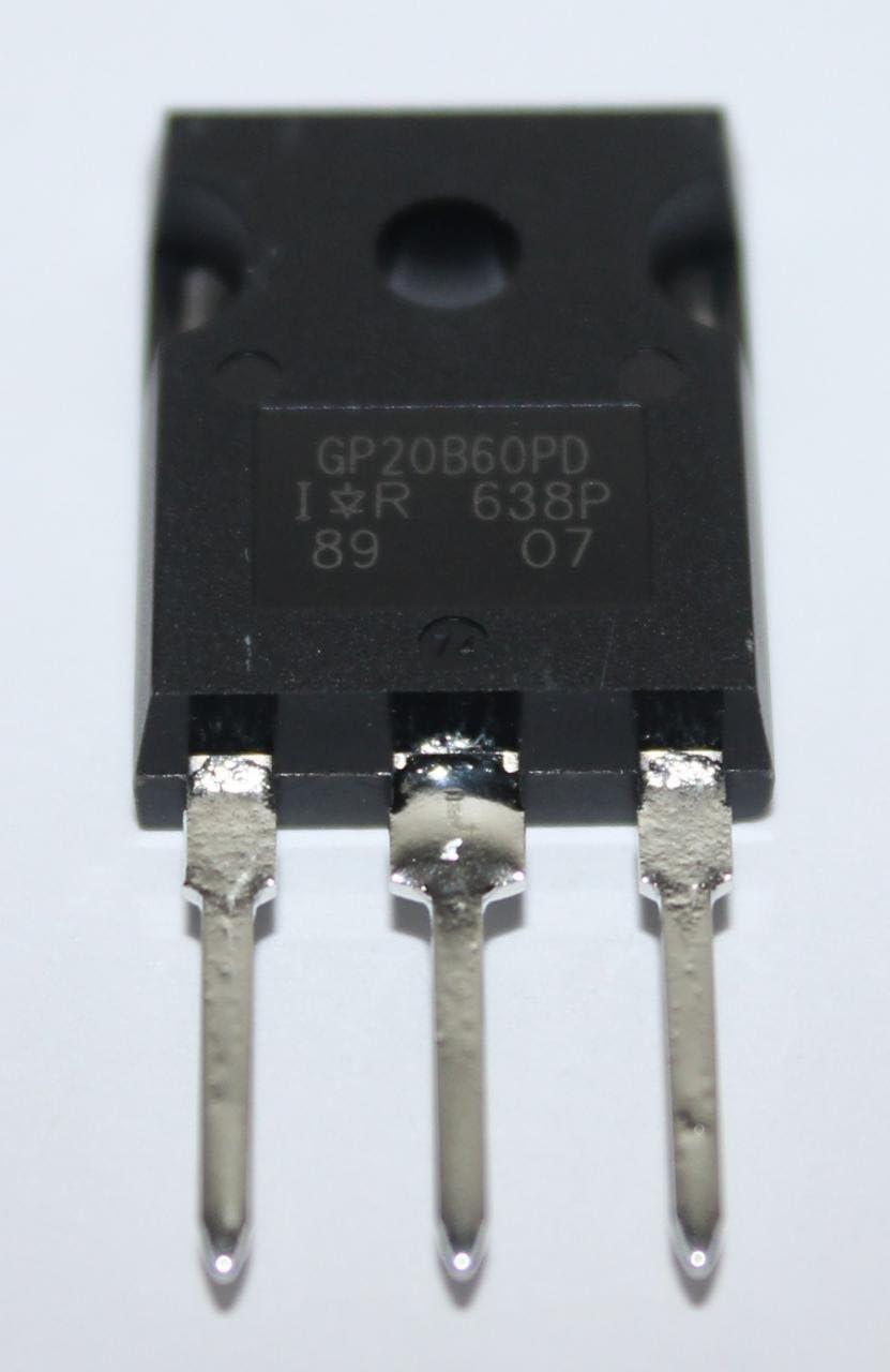 5pcs IRGP20B60PDPBF IRGP20B60PD GP20B60PD IR TO-247