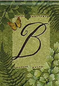 Nature's Script Monogram B House Flag