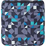 Tenba 633-334 Switch 10 Interchangeable Flap Blue/Gray Geometric (Blue/Gray Geometric)