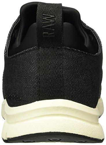 G Star Aver Wmn, Zapatillas para Mujer Negro (black 990)
