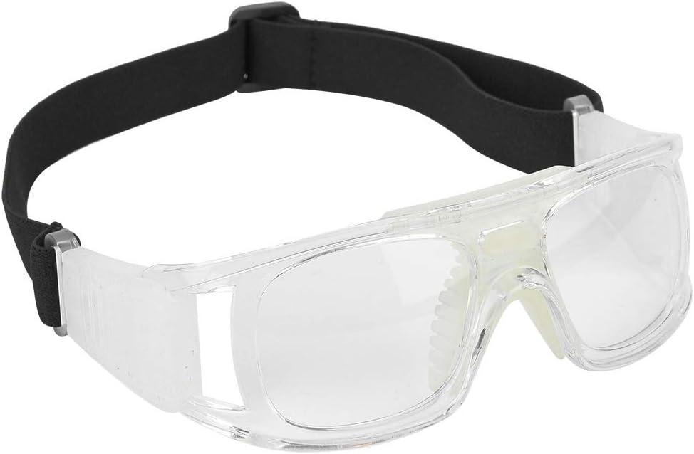 Alomejor Gafas Deportivas Gafas de Baloncesto de Deportes al Aire Libre Gafas de Gafas de Seguridad Gafas con Correa Ajustable elástica para el fútbol Baloncesto