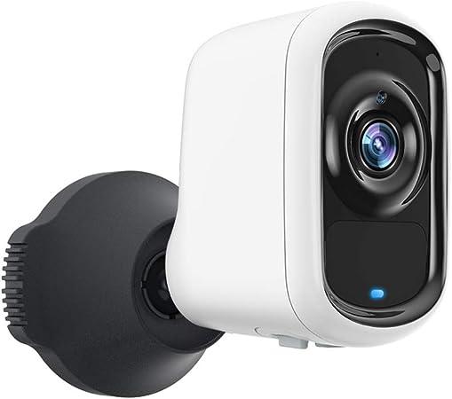 كاميرا مراقبة فخارجية وداخلية من سيدتير مع بطارية واي فاي 1080 بكسل كاميرا لاسلكية ذكية وخاصية تنبيه للهاتف وصوت ثنائي الاتجاهين ورؤية ليلية