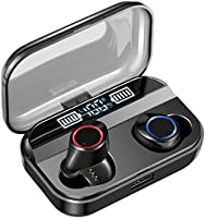 【2019革新モデル 260時間連続駆動 LEDディスプレイ 最新Bluetooth5.0+EDR搭載】 Bluetooth イヤホン Hi