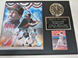 Padres Tony Gwynn Collectors Clock Plaque w/8x10 Photo and Card