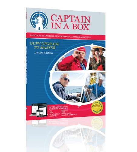 Captain in a Box: Captain's License OUPV Upgrade to 25/50/100 Ton Master (Deluxe Edition) ()