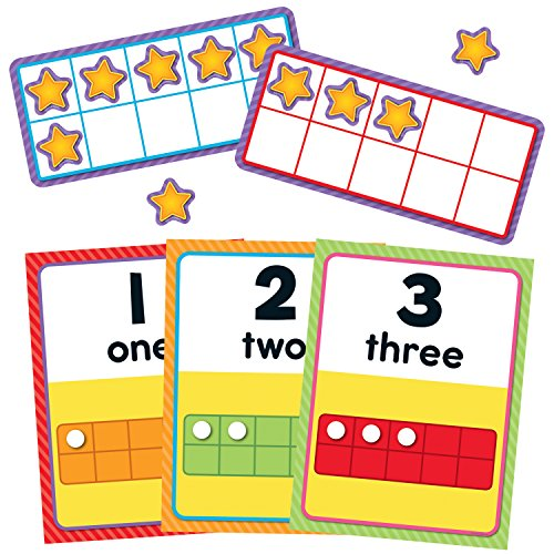 Carson Dellosa Numbers 0-20 Bulletin Board Set (Number Words Chart)
