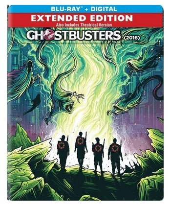 Ghostbusters 2016 Pop Art Project Limited Edition Steelbook Blu-ray/Digital
