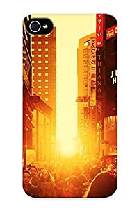 CnhkWrf2725XdbTG Special Design Back Sunset In Seoul Phone Case Cover For Iphone 4/4s