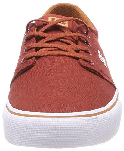 Shoes Dc burgundy Rosso Bur Tx Uomo Sneaker Trase g8x6nv8