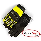 Majestic 2123HVY KnuckleHead Mechanics Synthetic Leather Safety Work Gloves