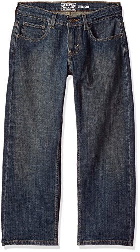 Signature by Levi Strauss & Co. Gold Label Husky Little Boys' Straight Fit Jeans, Prodigy 29W x 25L
