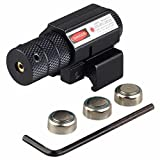 RioRand Hot Tactical Red Beam Dot Sight Scope for Gun Rifle Pistol Picatinny Mount