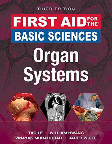 First Aid for the Basic Sciences: Organ Systems, Third Edition (First Aid Series)