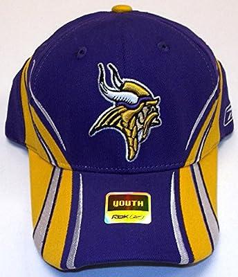Minnesota Vikings Flex Reebok Hat - Youth 4-7 Yrs