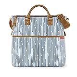 Skip Hop Duo Special Edition Diaper Bag, Blueprint Stripe