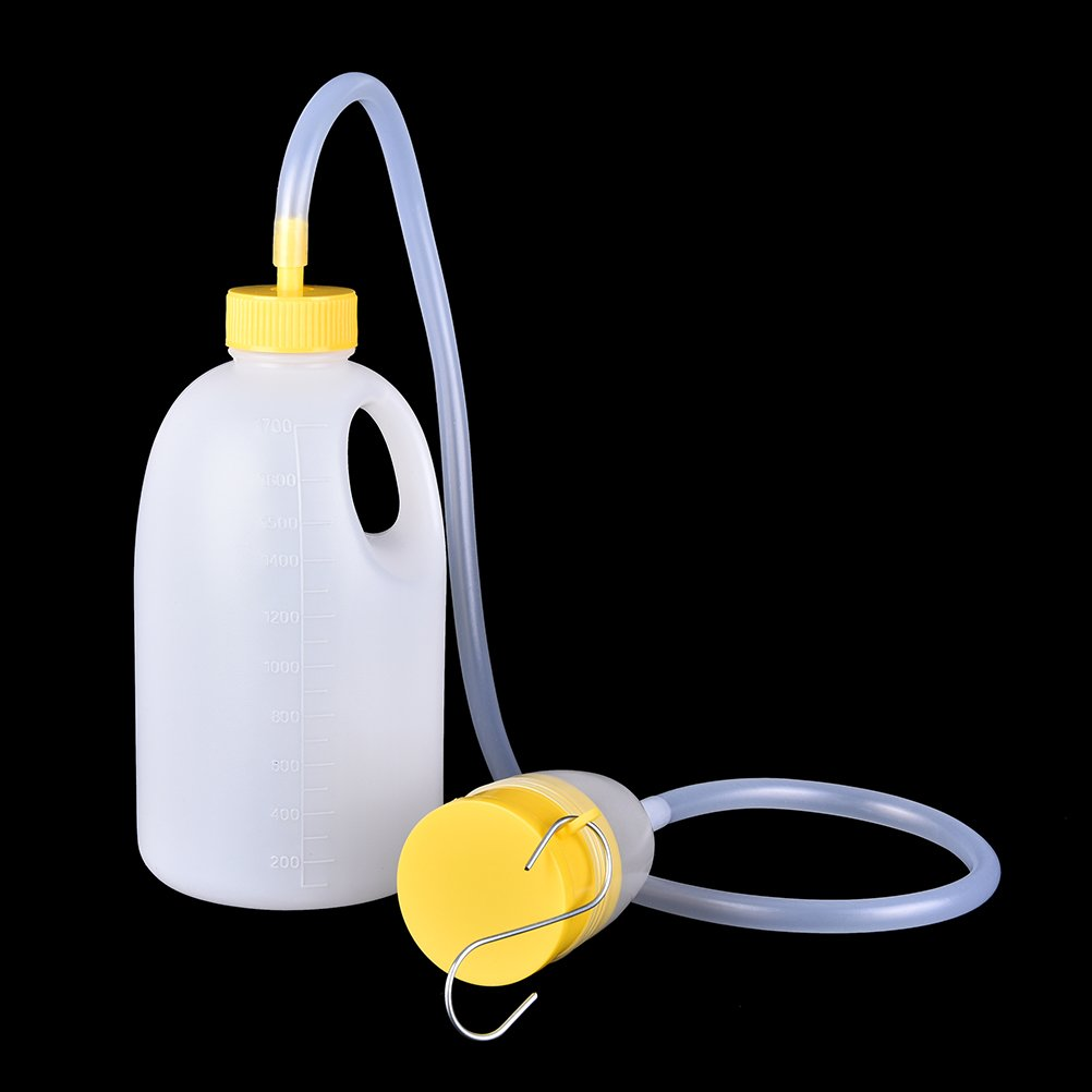 DeemoShop Male Urinal Large Capacity Old Urine Collector Tube Chamber Pot in Paralyzed Patients Care Stinkpot Men Products 1700ML