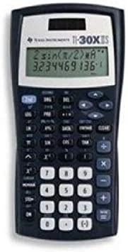 Texas Instruments TI-30X IIS Scientific Calculator - 2 Line(s) - LCD - Solar Battery Powered (pack of 10)