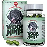 Woofmints Breath Freshener for Dogs, 120 Gel Capsules