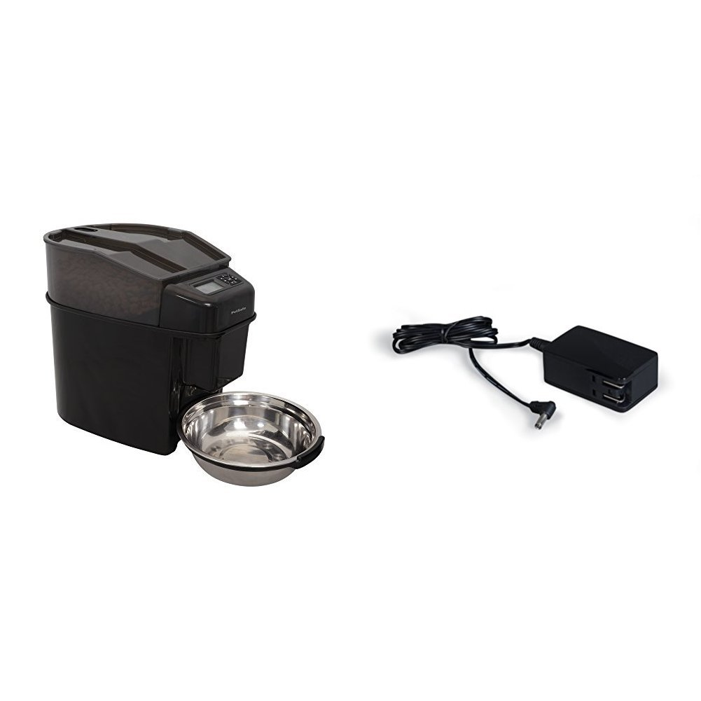 PetSafe Healthy Pet Simply Feed Automatic Pet Feeder with Power Adapter