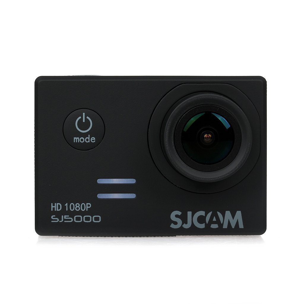 SJCAM Original SJ5000 Novatek 96655 14MP 170° Wide Angle 2.0'' LCD 1080P Sport Action Camera Waterproof Cam HD Camcorder Outdoor for Vehicle Diving Swimming (Black)