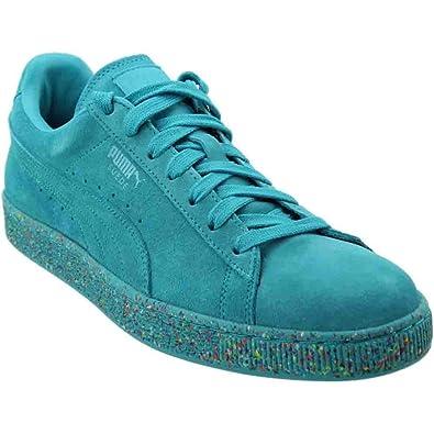 PUMA Men's Classic Multisplatter Suede Ankle High Fashion Sneaker