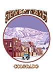Steamboat Springs, Colorado - Montage (White Background) (12x18 Art Print, Wall Decor Travel Poster)
