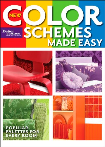 Cheap  New Color Schemes Made Easy (Better Homes and Gardens) (Better Homes and..