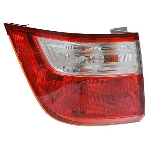 Outer Brake Light Taillight Lamp Driver Side Left LH for 11-13 Honda Odyssey (Honda Brake Lamp)