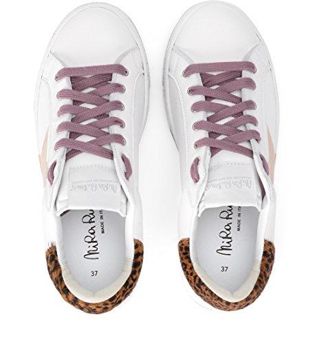 Bianca Oro Martini Pelle In Sneaker Bianco Stella Rubens E Nira xwXq6Z8I