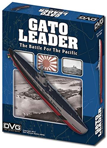 DVG: Gato Leader, the Battle for the Pacific, Solitaire Submarine Warfare Boardgame